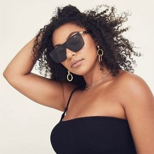 Quay Incognito Oversized Shield Sunglasses NWT